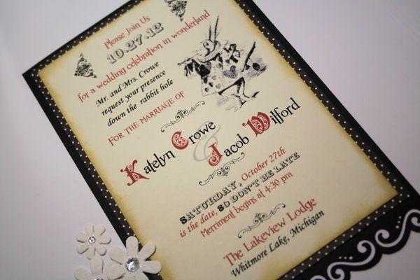 Tmx 1332721562966 Alice1 Whitmore Lake wedding invitation