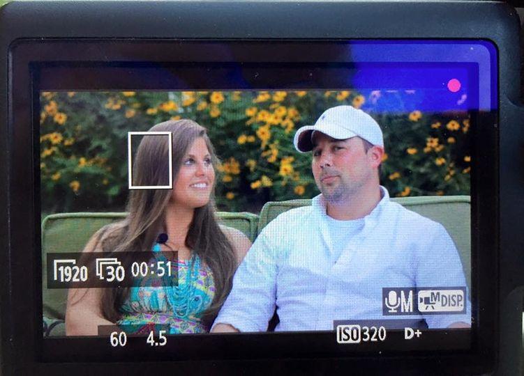 Filming pre-wedding love story