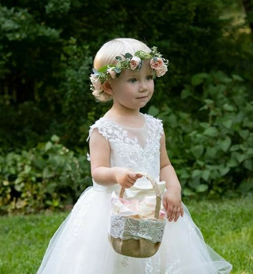 Floral crown for flower children