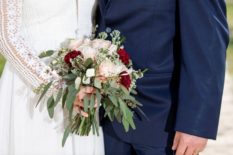 Blush pink bouquet