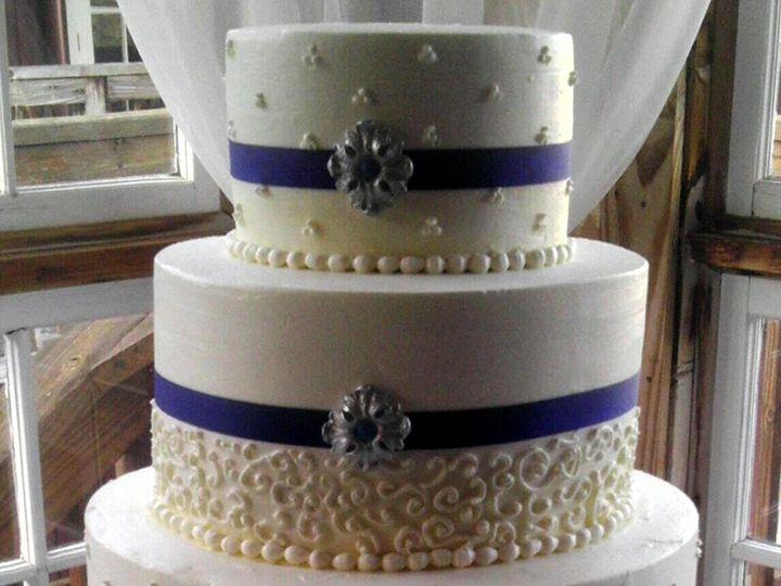 Tmx 1411651510143 Gf Butter Sponge Wedding Cake Atlanta wedding