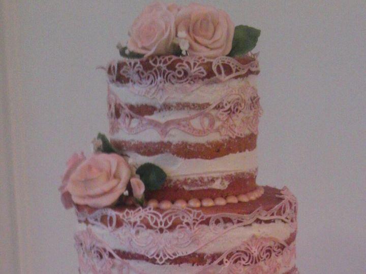 Tmx 1411652002731 Naked Cake W Lace Atlanta wedding