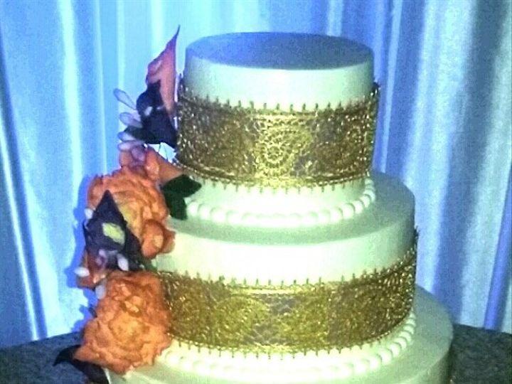 Tmx 1476476857674 Gold Paisley Lace And Sugar Florals Atlanta wedding