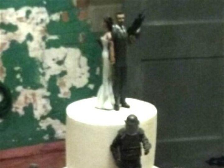 Tmx 1476477067578 Zombie Wedding Cake Atlanta wedding