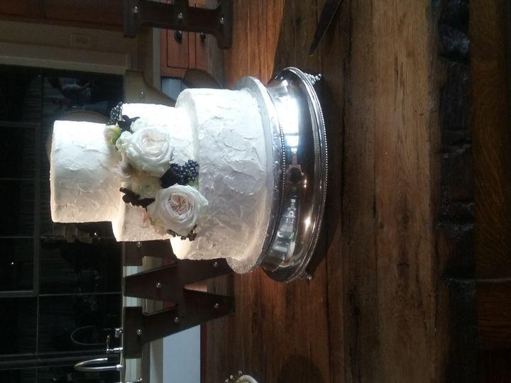 Tmx 1476478470898 Pearled White Stucco Wedding Cake  Atlanta wedding