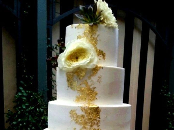 Tmx 1476480217055 24k Five Tier Wedding Cake Atlanta wedding