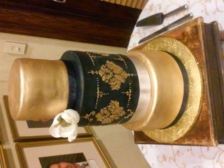 Tmx 1476480397223 Emory Blue And Gold Alum House Wedding Atlanta wedding