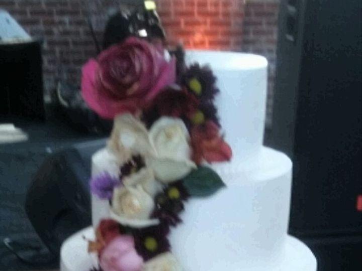Tmx 1476481009284 Fall Floral Cascade Cake Atlanta wedding