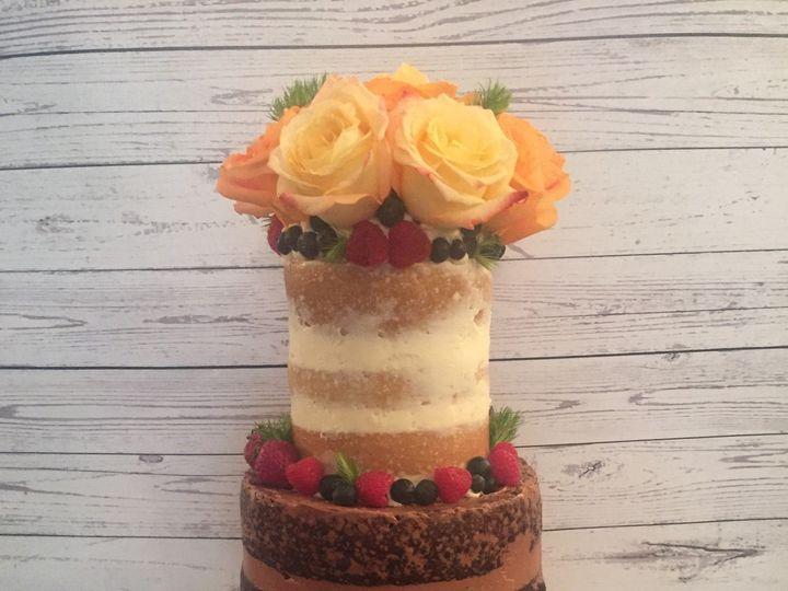 Tmx 1485305811754 Nakedcakecelebration Middle Village, New York wedding cake