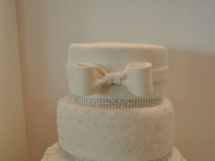 Tmx 1485307160527 Christinawedding Middle Village, New York wedding cake