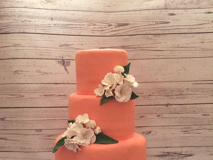 Tmx 1485307315355 Img0123 Middle Village, New York wedding cake