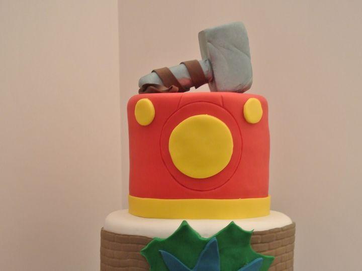 Tmx 1485308290716 Avengerscelebration Middle Village, New York wedding cake