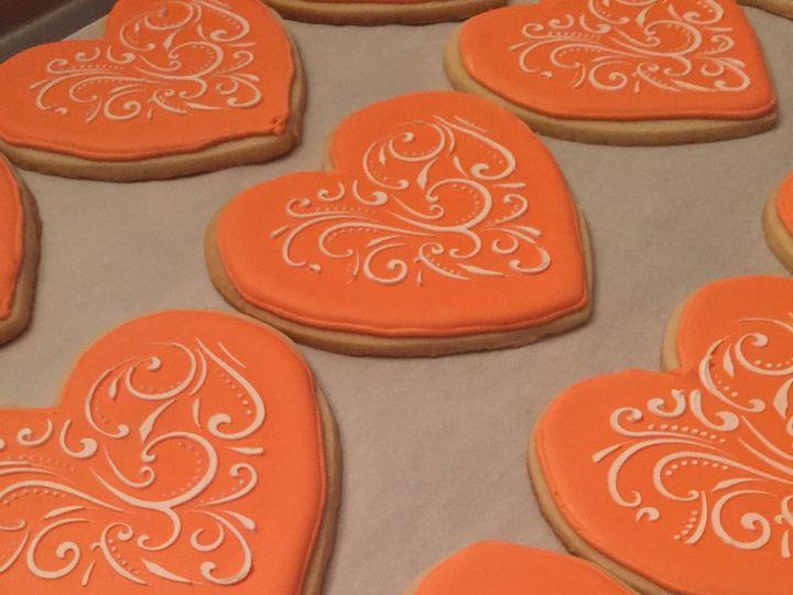 Tmx 1485308617192 Heartcookies Middle Village, New York wedding cake