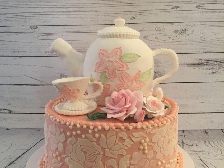 Tmx 1485308945601 Tea Celebration Middle Village, New York wedding cake