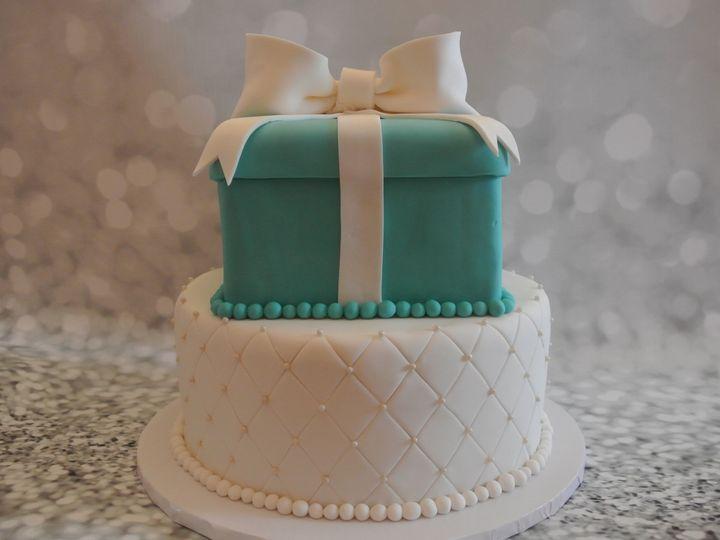 Tmx 1485309049284 Tiffanyengagementcelebration Middle Village, New York wedding cake