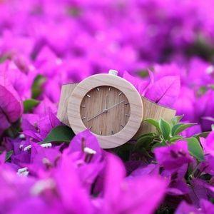 Silverheart and Maple Watch in flowers