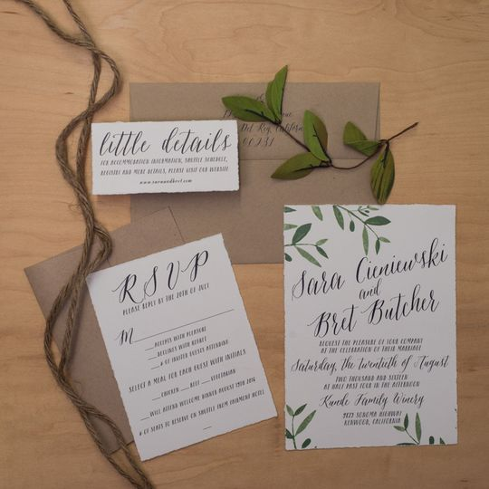 wedding invitations illinois chicago rockford south bend and