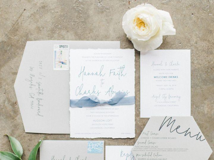Tmx Hannah Charlie Invitation Suite 51 501485 Elgin, Illinois wedding invitation