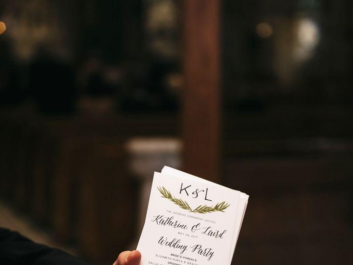 Tmx Katlaird 195 51 501485 Elgin, Illinois wedding invitation
