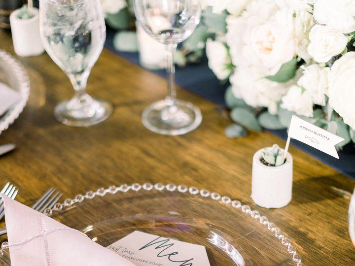 Tmx Menu Table 51 501485 Elgin, Illinois wedding invitation