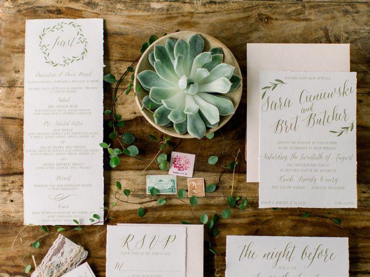 Tmx Rustic Vineyard 51 501485 Elgin, Illinois wedding invitation