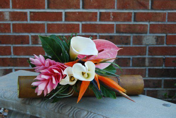 Tropical Wedding Bouquet