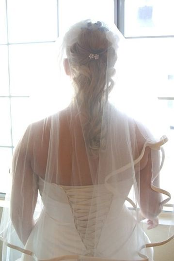With the veil