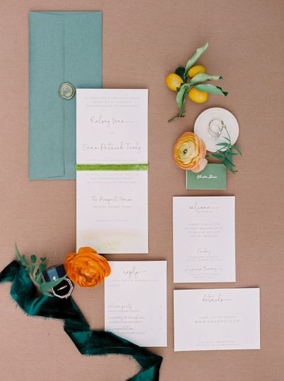 Details of stationery