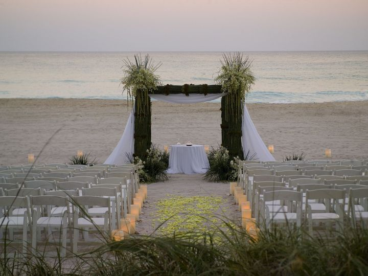 Tmx 1428437438440 Beach Ceremony 3 North Miami Beach, Florida wedding venue