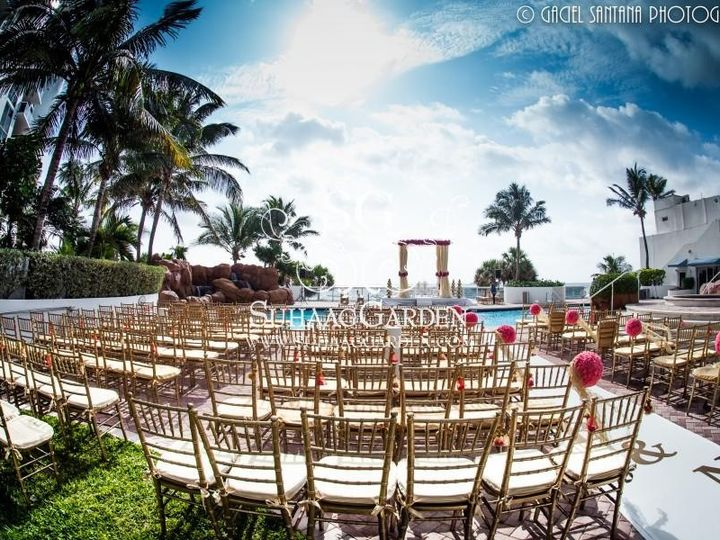 Tmx 1471449127667 Mandap At The Pool North Miami Beach, Florida wedding venue