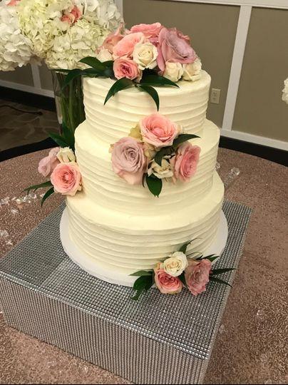Textured floral design