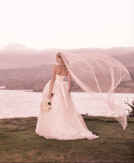 wedding bride trump national golf club