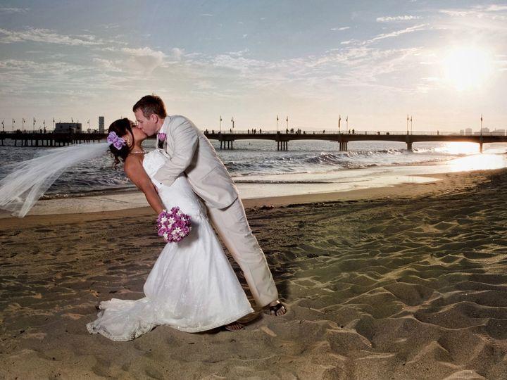 Tmx 1419015325007 Dramatic Beach Wedding Kiss Denver wedding photography