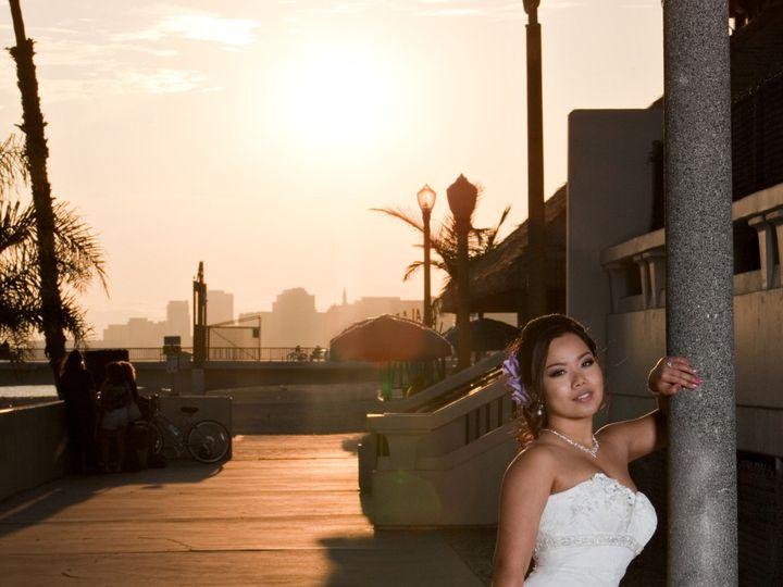 Tmx 1419015766123 Sunset Bride Portrait Long Beach Denver wedding photography