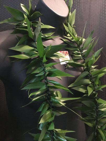 Leafy lei