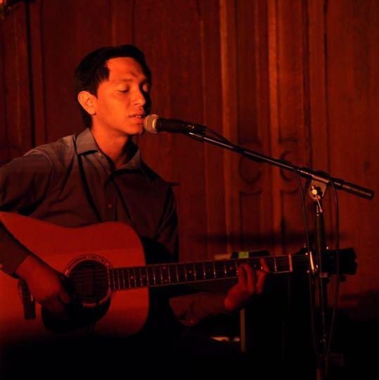 Soloist singing