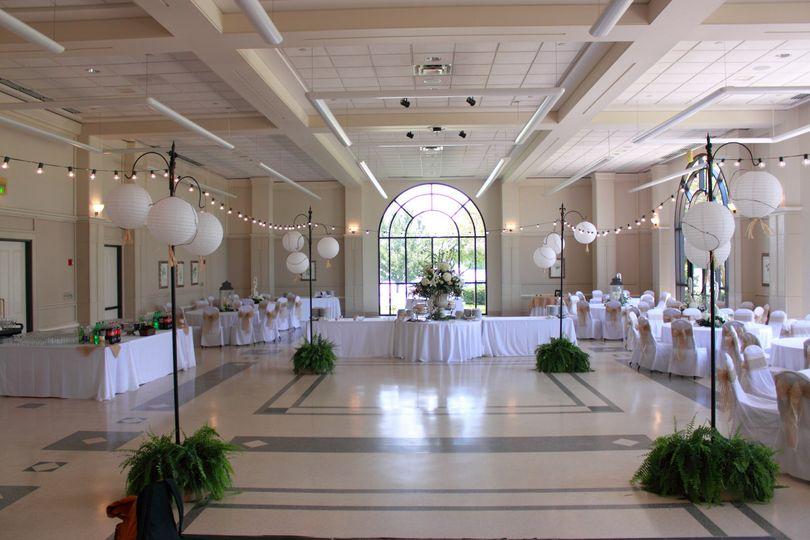 The Cook Hotel Amp Lod Cook Alumni Center Wedding Ceremony Amp Reception Venue Louisiana