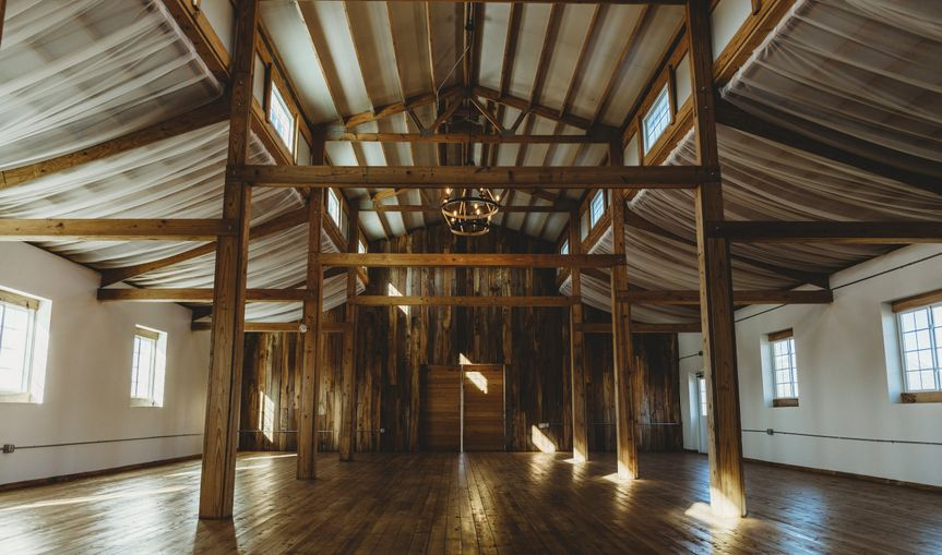 Perfect for a barn reception!