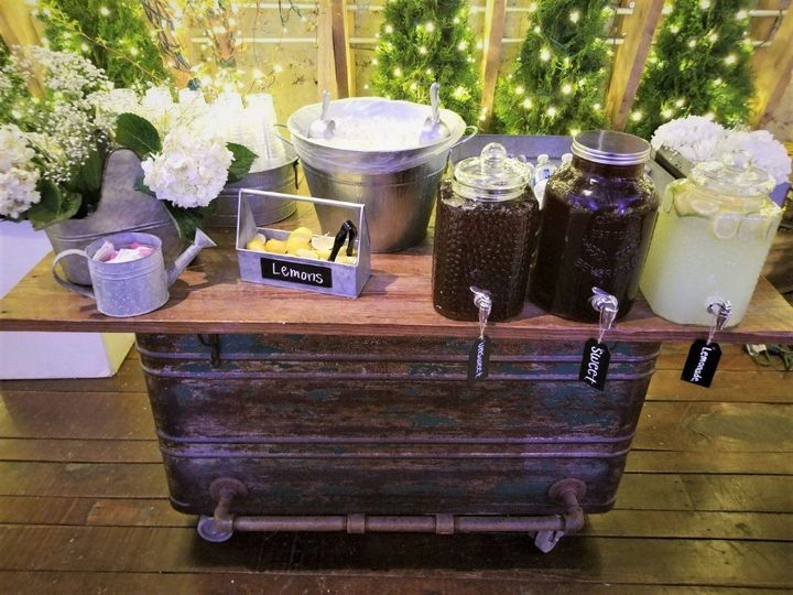 The beverage table