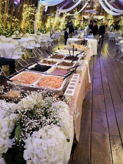 A tempting buffet