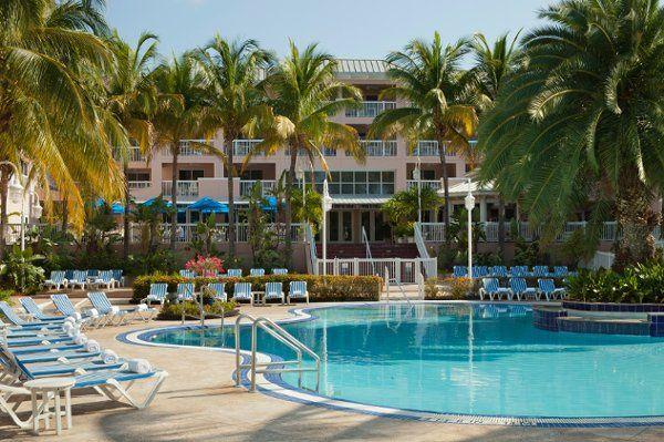 Outdoor wedding venue of  DoubleTree by Hilton Grand Key Resort - Key West