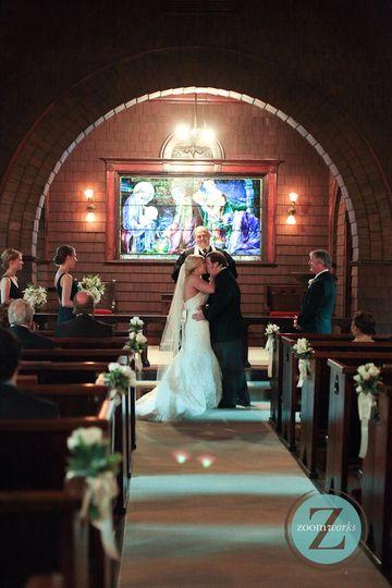 Ceremony in faith chapel