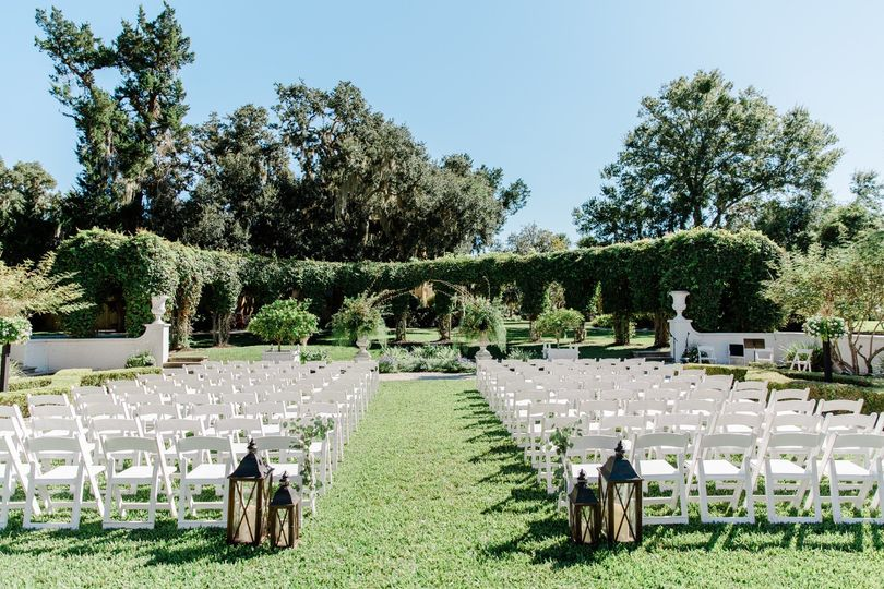 Crane Cottage Garden Ceremony