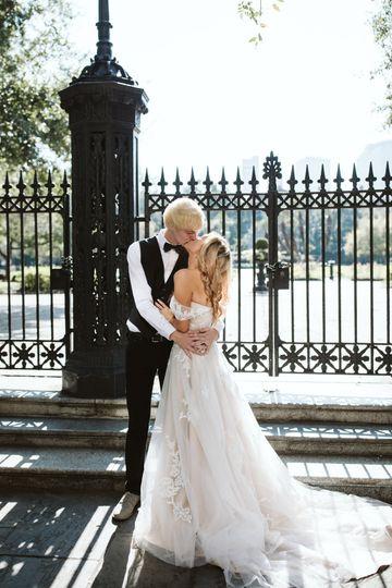 Fairytale elopement