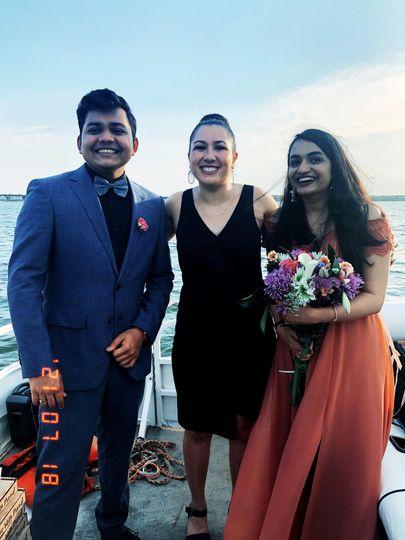 July Wedding on a boat!