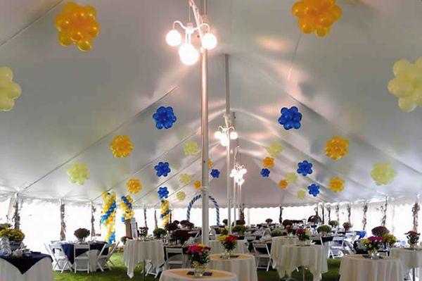 Tent banquet