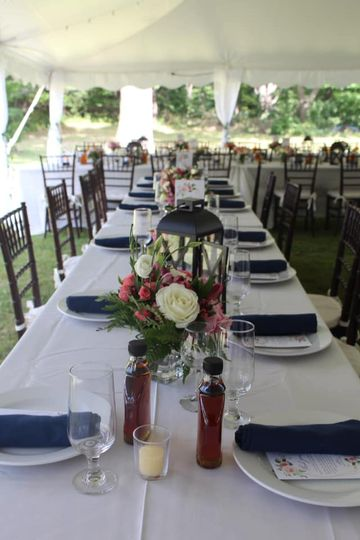 Long Tables Outdoor