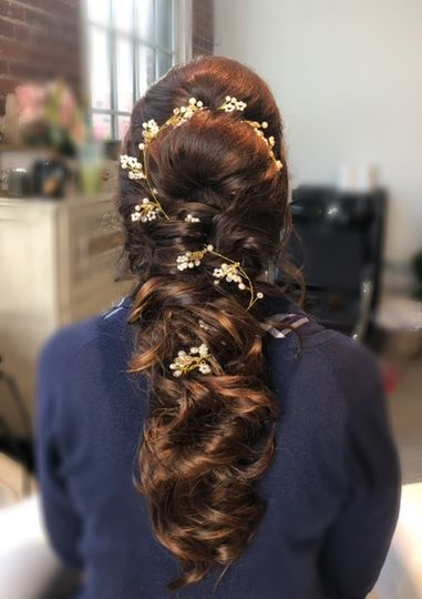 Boho braid for that special day