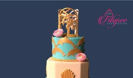 Filigree Cake Design