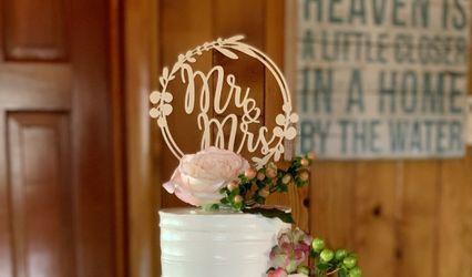 Filigree Cake Design